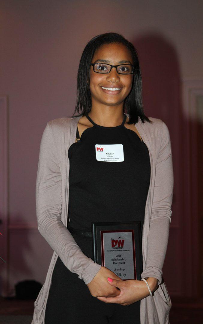 Meet Amber, 2016 Scholarship Recipient